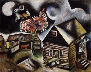 Marc Chagall--Rain