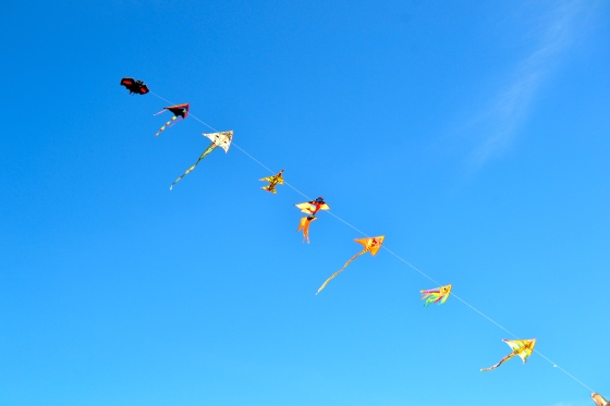 there's something about kites that just makes me smile
