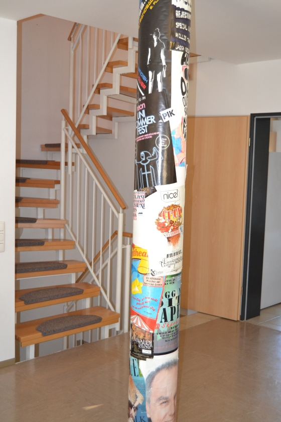 Our European-flavor travel pole...memorializing our favorite trips