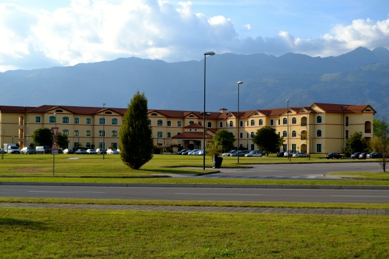 Look out Edelweiss Lodge and Resort--Aviano just might have you beat for spectacular views