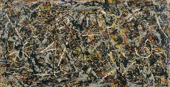 Jackson Pollock--Alchemy 13