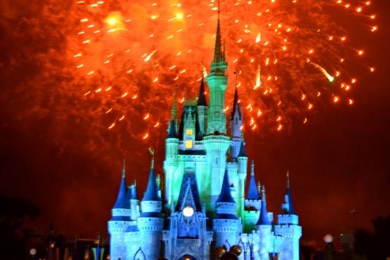 cinderella-castle-orange-firework