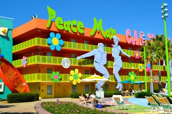 Pop Century Resort at Disneyworld
