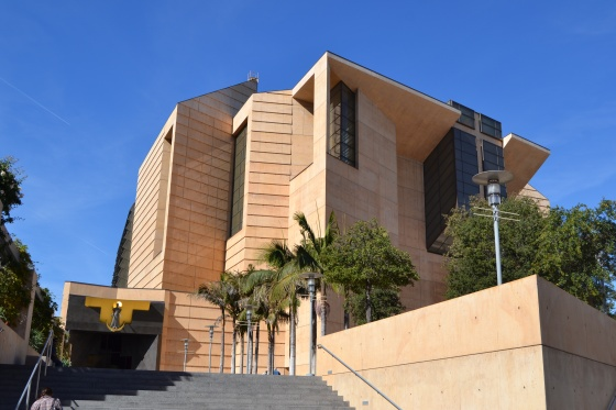 Los Angeles' cathedral: Our Lady of the Angels