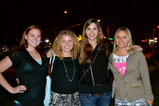 Lauren and her girlfriends...Such an impressive group of young women