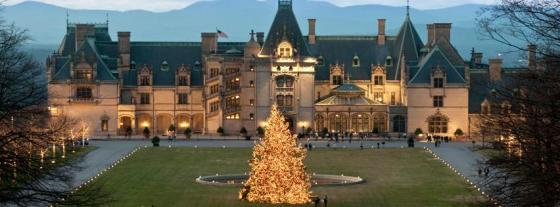 Biltmore Estate decked out for Christmas