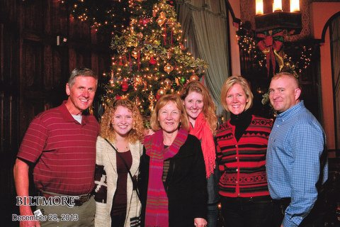 A great photo to capture the memories of candlelight at the Biltmore Estate
