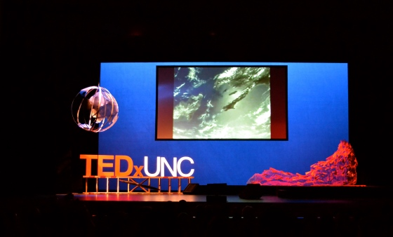 Main stage TEDx UNC Chapel Hill 2014