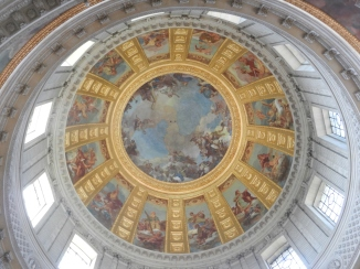 Domed ceiling at Les Invalides