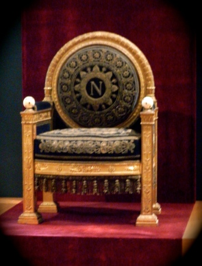 "Napoleon's ""throne"""
