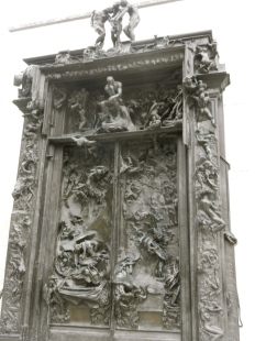 Rodin's Gates of Hall...super scary