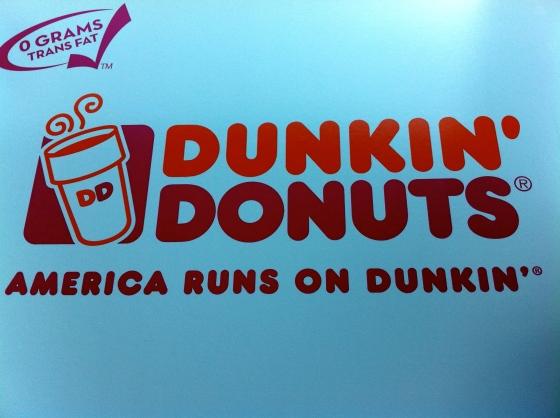 Of course, America runs on Dunkin!