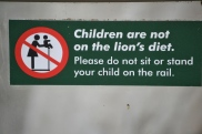 Just in case Americans can't understand international signage