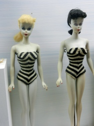 The first barbie dolls, preserved for the world to enjoy