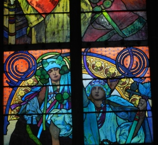 My favorite stained glass artist: Mucha