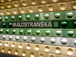 Our favorite metro stop in Prague...just because it looks so futuristic