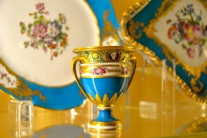 Fabulous blue Sevres China