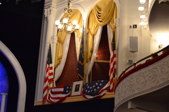 the presidential box at Ford's Theater