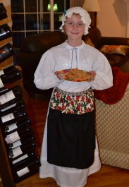 Our colonial cook tempts us with peanut butter fudge