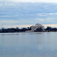 Jefferson Memorial across the Tidal Basin
