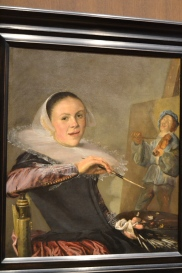 Bold female Dutch painter