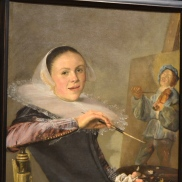 Bold female Dutch painter