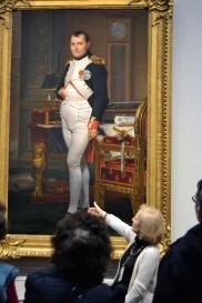 Napoleon in his iconic pose