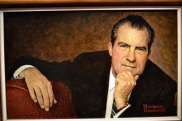 Norman Rockwell does Nixon