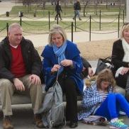 A candid scene as we wait (again) for Grandpa.