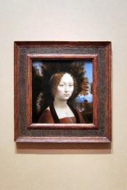 DaVinci painting at Natl Gallery of Art