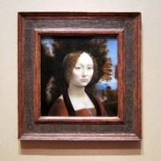 DaVinci painting at Natl Gallery of Art