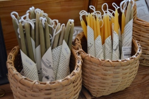 Hand dipped candles