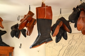Fine leather boots