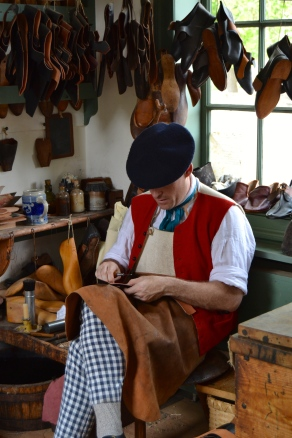 The shoe maker--don't call him a cobbler