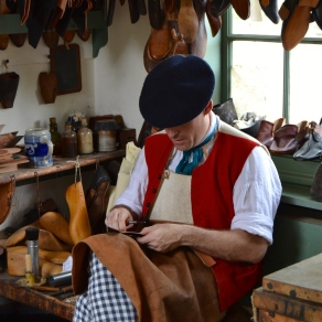 The shoe maker--don't call him a cobbler