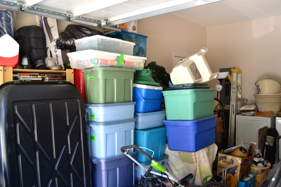 clutter? Organized chaos is more like it.
