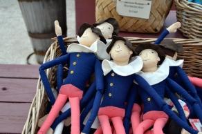 colonial rag dolls