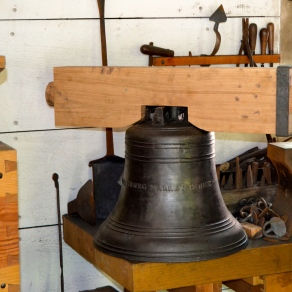 A newly cast bell