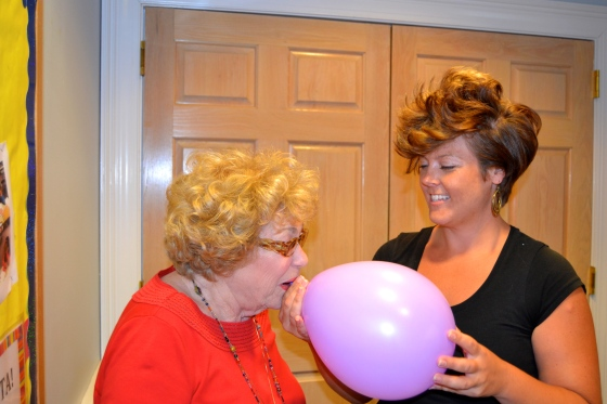A little fun with helium...