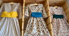 Colonial dress for purchase; all handmade