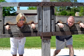 Put in the stocks--this is how we got to 26 years of marriage