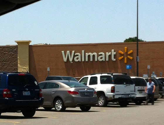 Two things I know about Arkansas...Walmart is one of them.