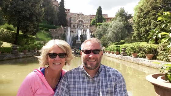 A Perfect Day to enjoy the fountains of Tivoli