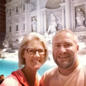 11:30pm, Trevi Fountain, Rome
