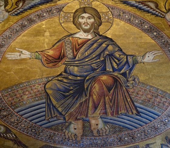 Christ mosaic, Florence baptistry