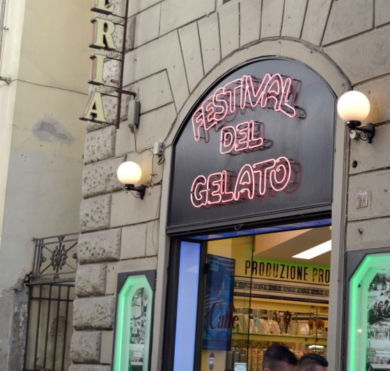 This is it! The one and only Festival Gelato in Florence. Deliciousness awaits.