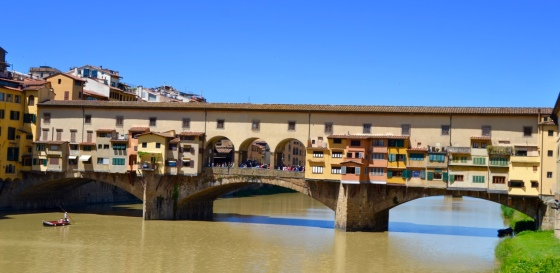 The iconic Ponte Vecchio, Florence