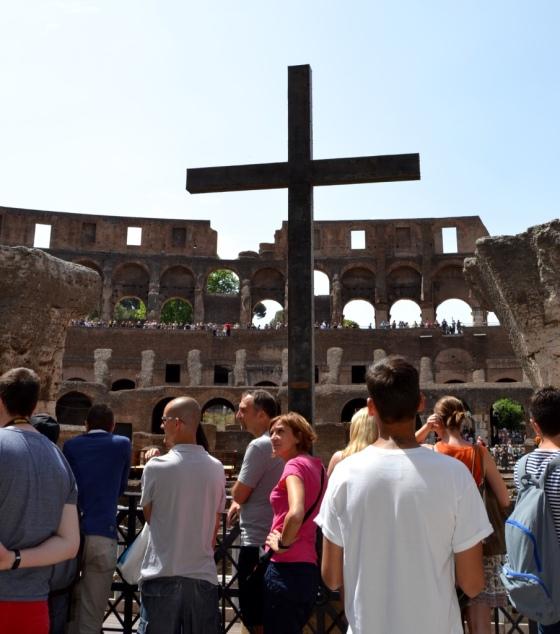 The Emperor's Cross in Coliseum