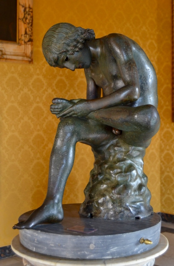 The Boy with Thorn, Capitoline Hill Museum