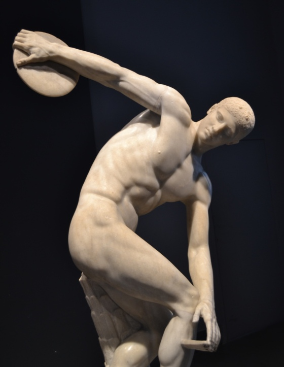 The Discus Thrower, Roman copy of Greek sculpture